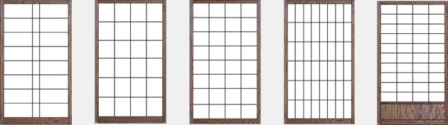 Japanische Shoji Schiebetüren und Innenausbau von GERSTENBERGER®